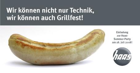 Einladung zum Grillfest für Mitarbeiter und Geschäftspartner ...