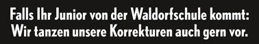 Korrekturen tanzen? Genial! Quelle: www.wienersundwieners.de