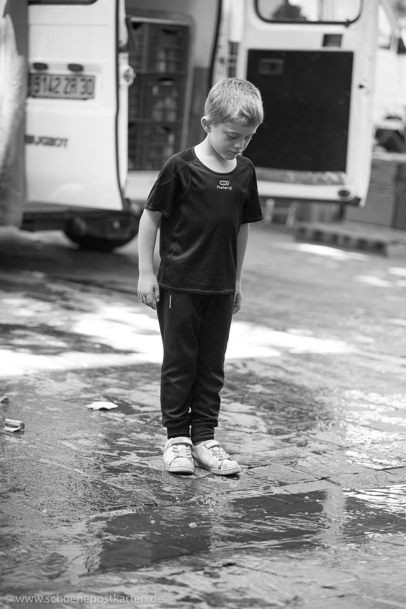 Hommage an Cartier-Bresson. Foto: Norbert Kraas | Schöne Postkarten