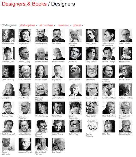 Was Designer lesen steht hier: Designers & Books