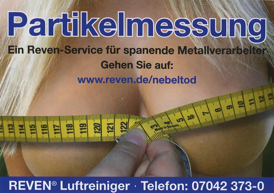 Anzeige für Luftreiniger. Quelle: Maschine + Werkzeug 3/2011.