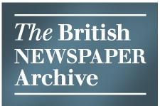 The British Newspaper Archive. Screenshot: Kraas & Lachmann