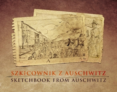 """Sketchbook from Auschwitz"" · Screenshot: Kraas & Lachmann."