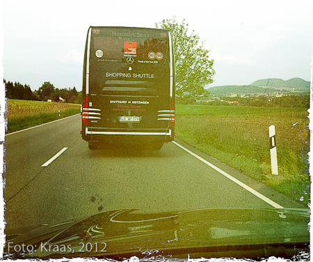 Shopping Shuttle im Outlet Country. Sonntag, 22.5.2012