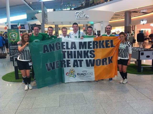 Angela Merkel thinks we are at work. via http://abbeyfealeonline.blogspot.de