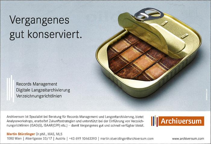 Archiversum-Sardinendose. Screenshot: Kraas & Lachmann.