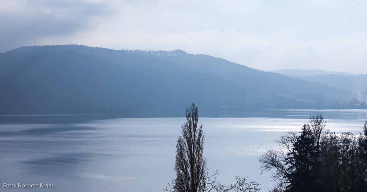 Blick von der Hoeri über den Untersee auf die Schweizer Seite