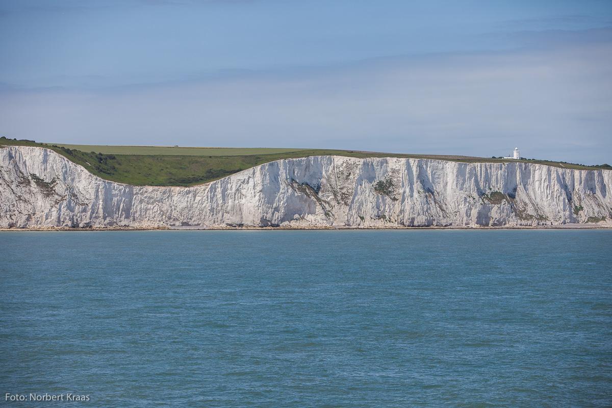Die Klippen von Dover. Endet hier bald das politische Europa?