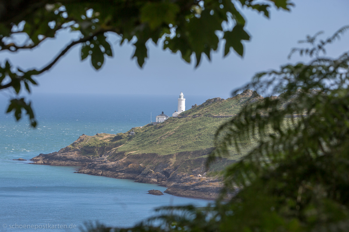 Star Point Lighthouse am South West Coast Path in Devon