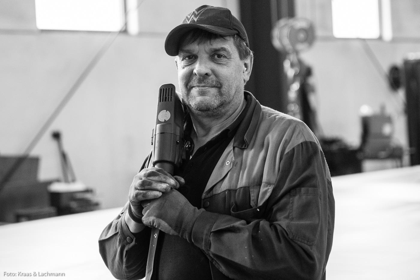 Richard Sobotta arbeitet beim Maschinen- und Anlagenbauer Weckenmann in Dormettingen.