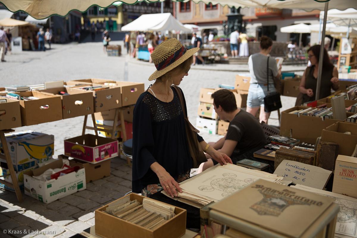 Tübinger Bücherfest 2017: Antiquariatsmarkt