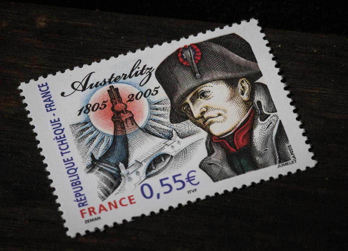 Bis heute sehen die Franzosen Napoleon lieber als Sieger: Sondermarke zur Schlacht von Austerlitz