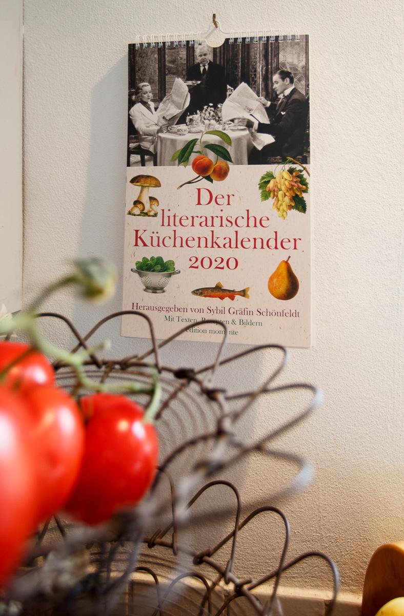 Ein Klassiker: Der literarische Küchenkalender 2020. Hg. Sybil Gräfin Schönfeldt
