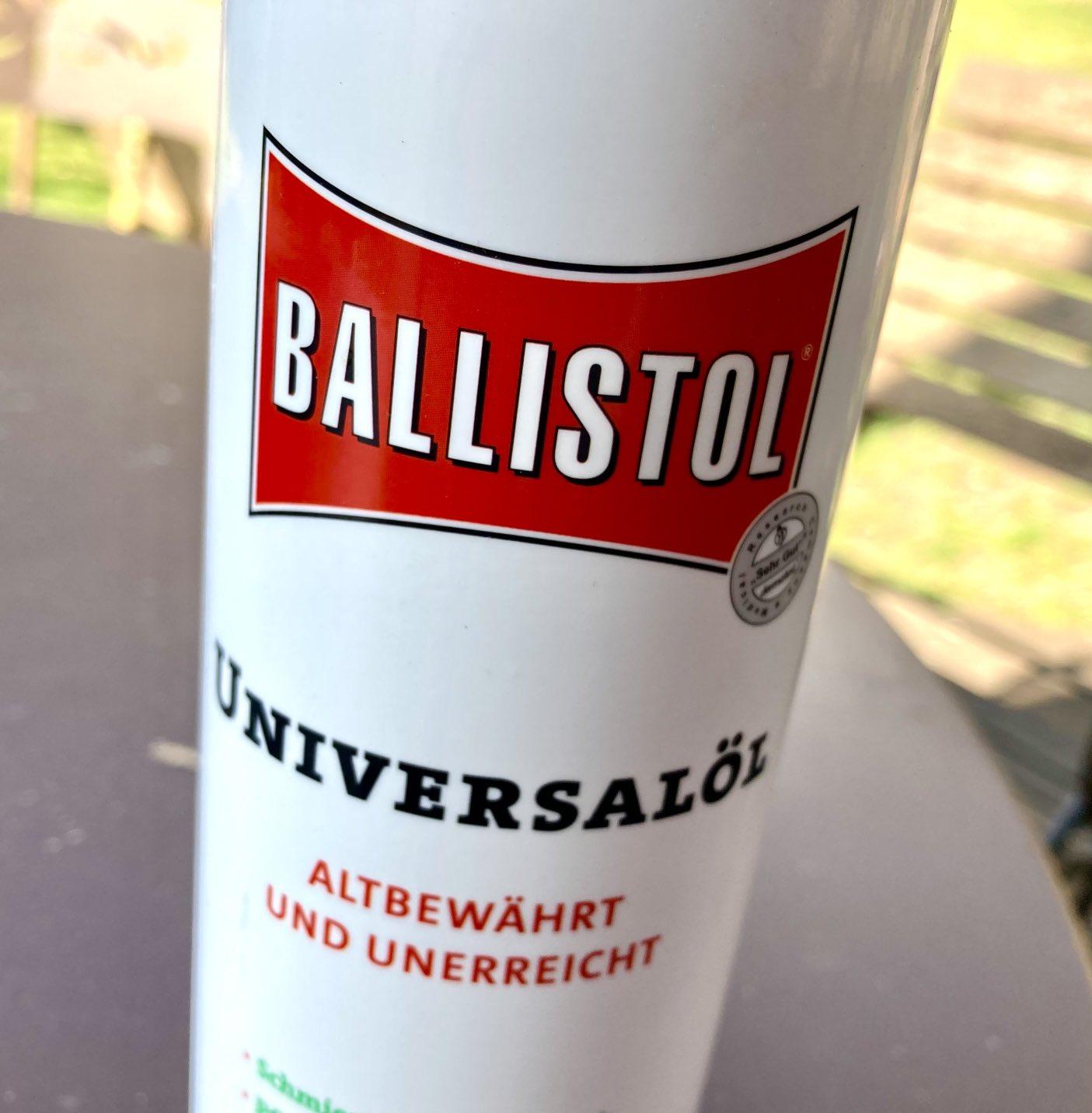 Wirkung bekannt, Zutaten geheim: Ballistol