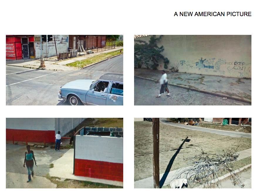"""Doug Rickard's """"A New American Picture."""" Screenshot Kraas & Lachmann. Source: http://www.dougrickard.com/photographs/a-new-american-picture/"""
