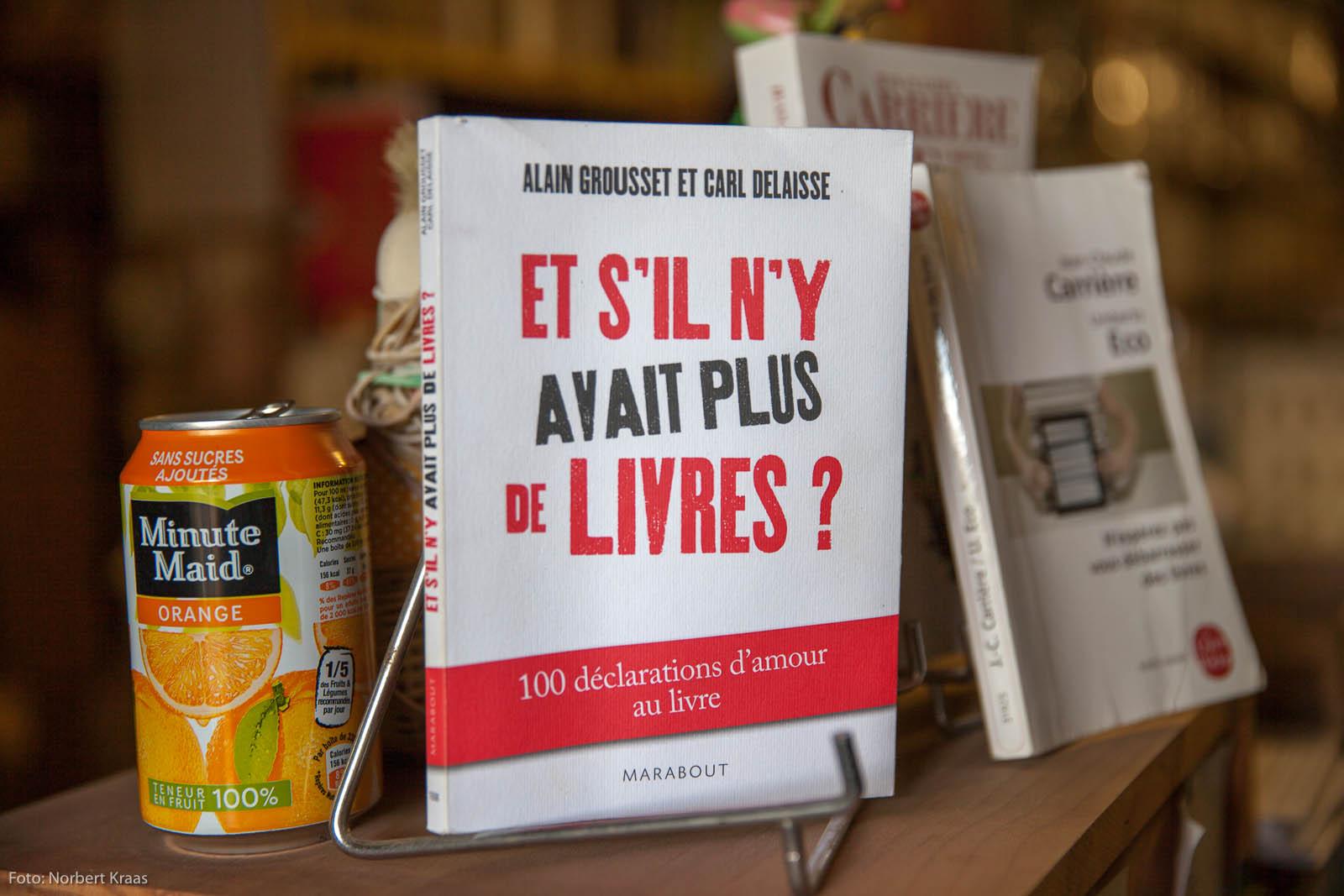 Gesehen in der kleinen, feinen Librarie Paroli in Minerve, Frankreich.