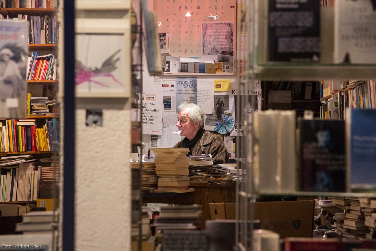 2017 wurde Wolfgang Zwierzynskis Quichotte als hervorragende Buchhandlung ausgezeichnet