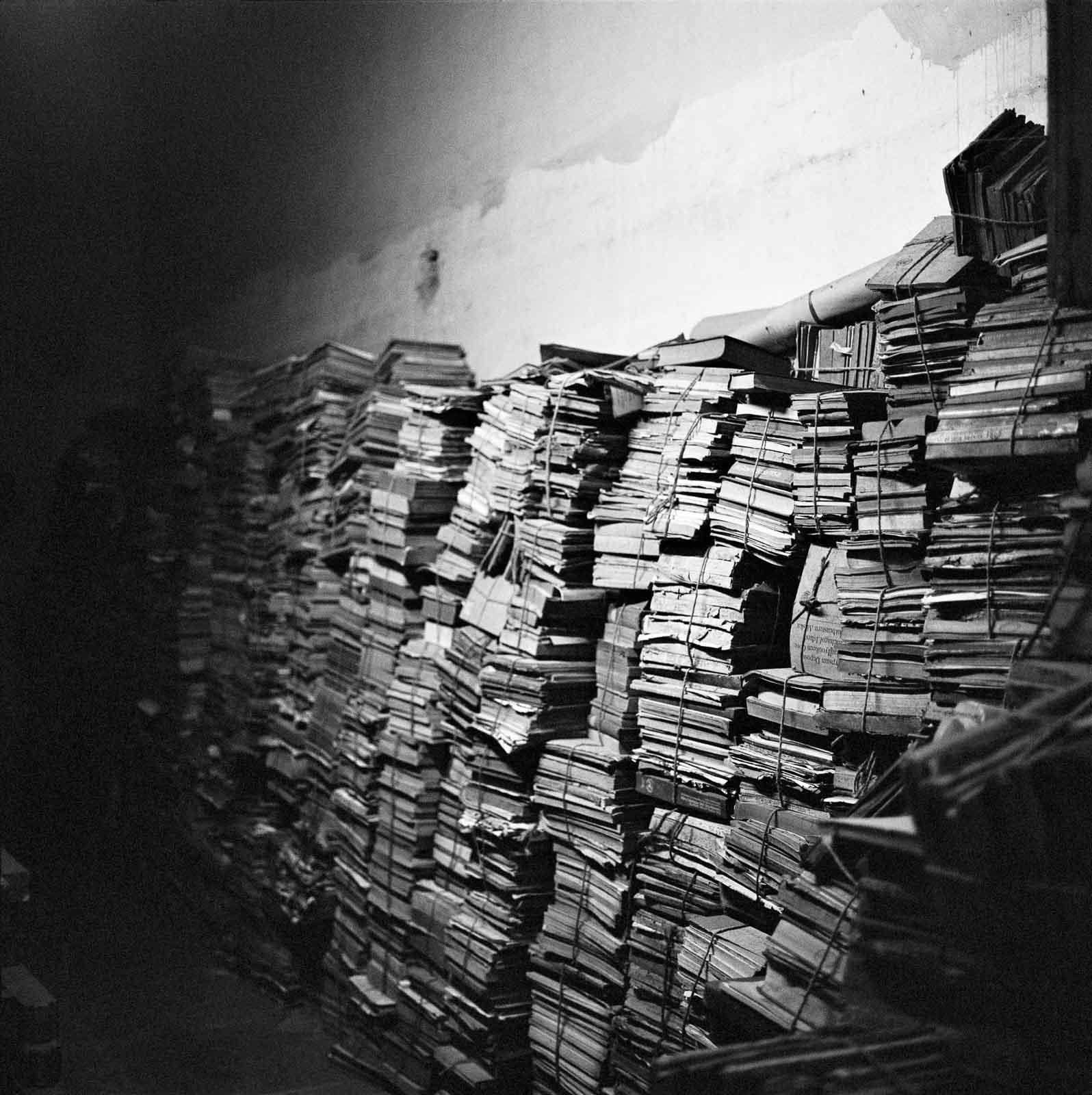 Alptraum Archiv? Foto aus dem besprochenen Fotoband. © Dayanita Singh
