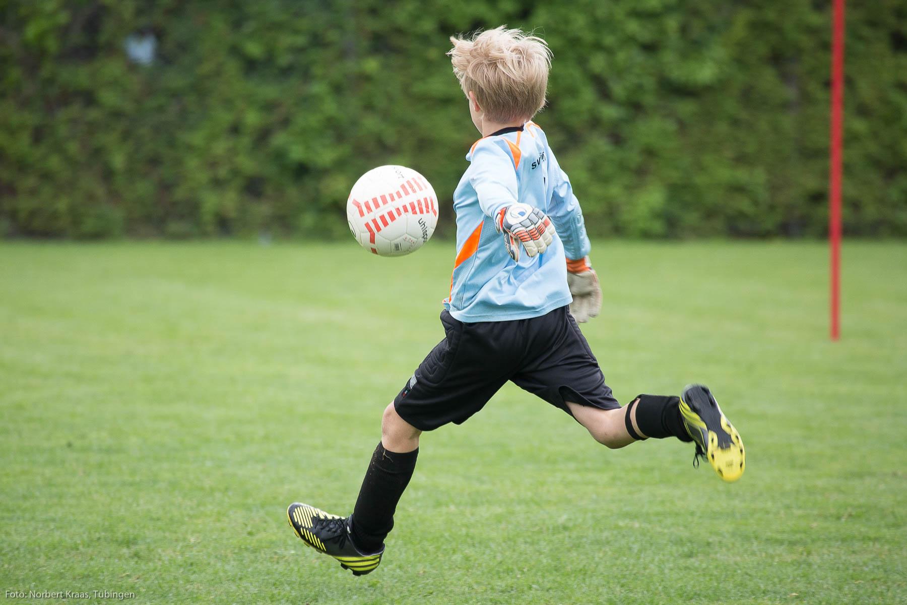 Fußball mit Gefühl. Foto: Norbert Kraas