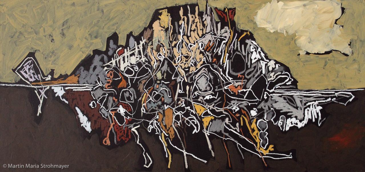 Ein Monsterbutt? Sehen Sie selbst in der Galerie Dalmau vom 2. bis 13. Mai 2014
