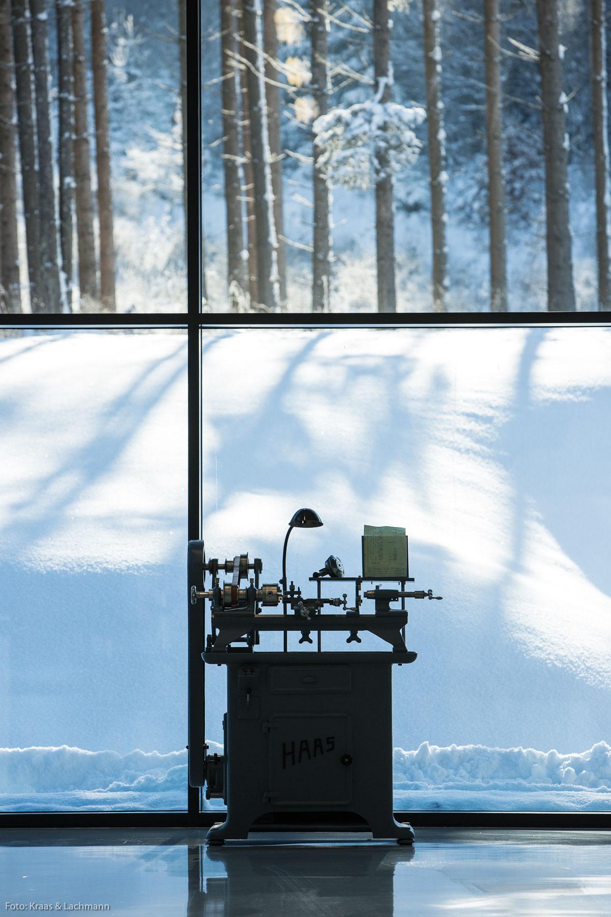 Schönheit liegt im Auge des Betrachters, auch die einer Drehmaschine. Foto: Kraas & Lachmann