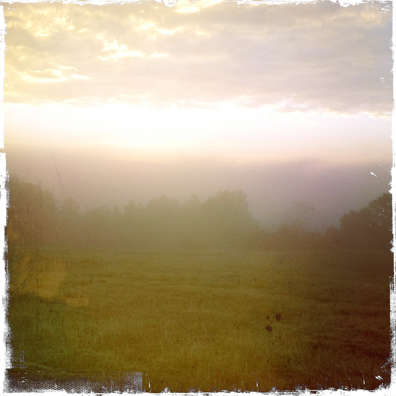 Hipsta-David-Friedrich-Stiimmung am Montagmorgen.