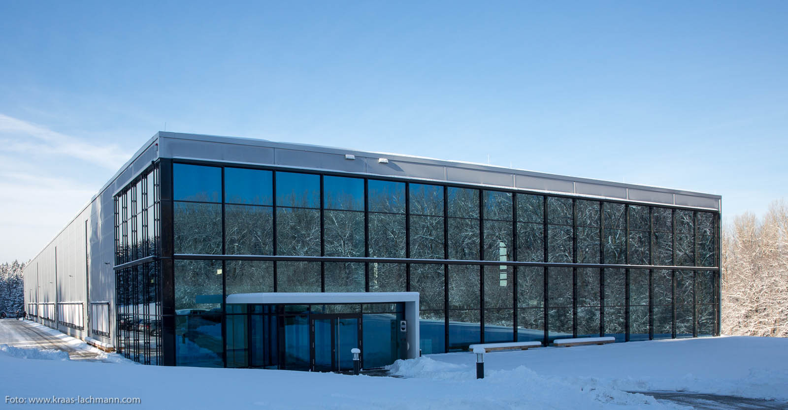 Firmensitz der Haas Schleifmaschinen GmbH in Trossingen.