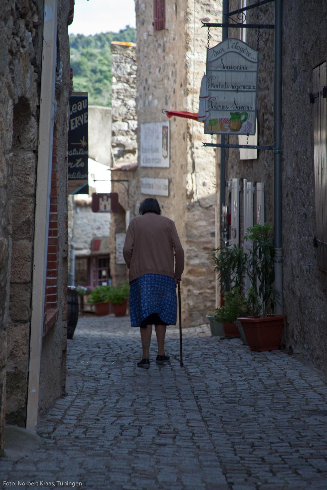 Minerve, 132 Einwohner, eine kleine Gemeinde im Languedoc.