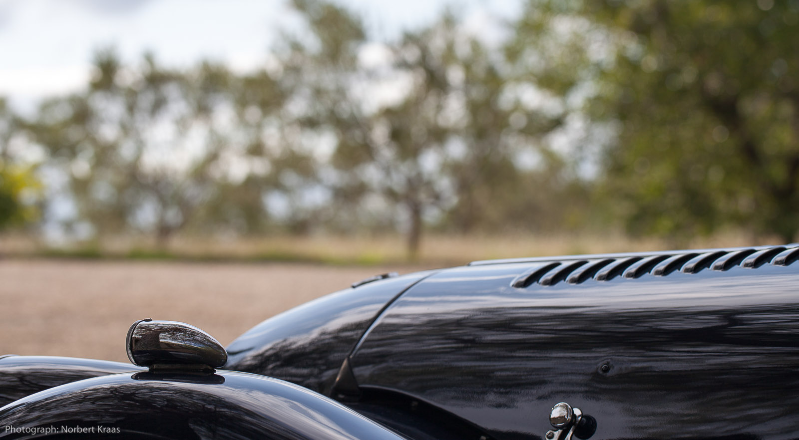 Morgan Plus 8 im Minervois.