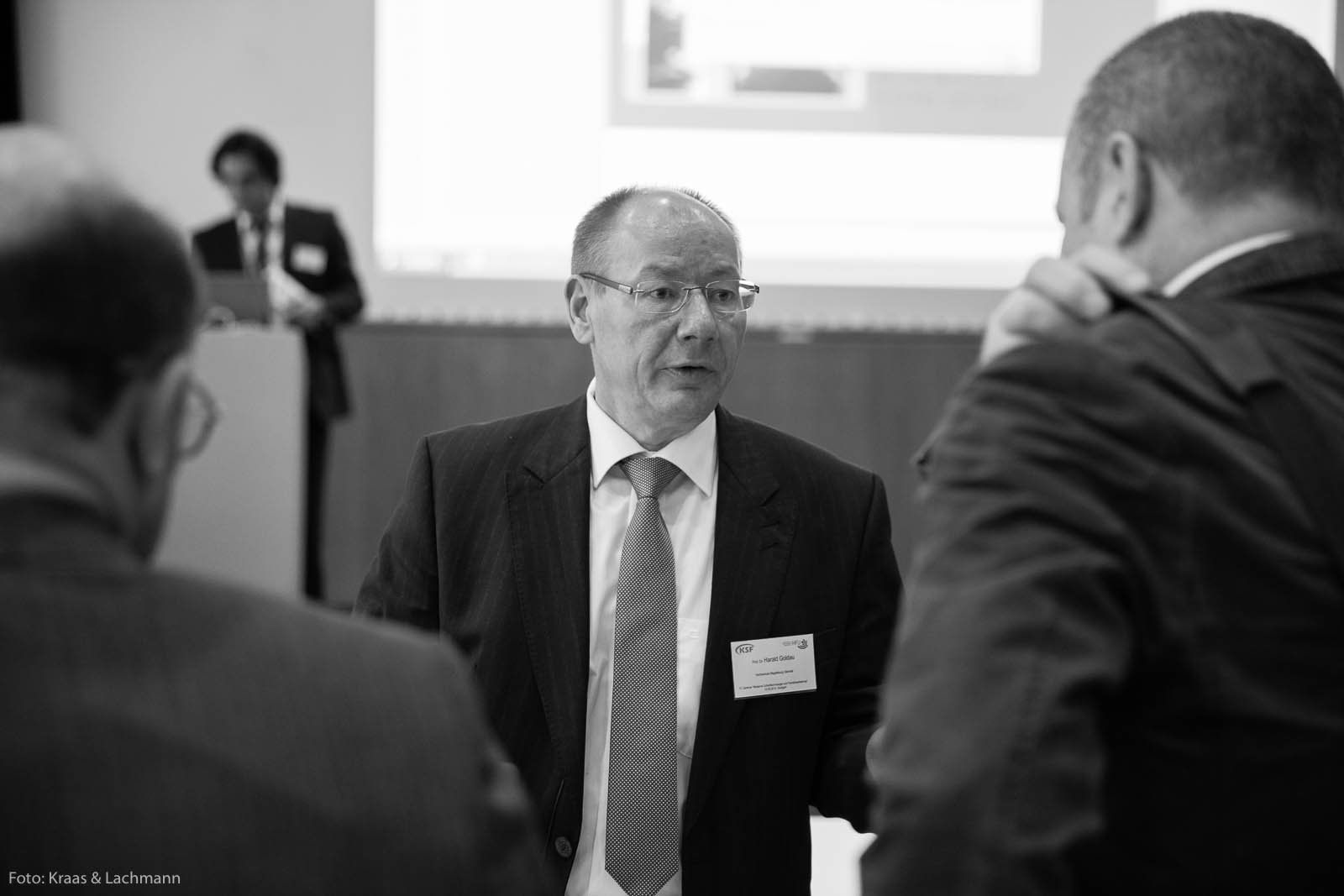 Prof. Dr.-Ing. Harald Goldau, Prorektor Hochschule Magdeburg-Stendal.