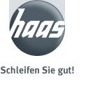 Haas-Logo mit Slogan.